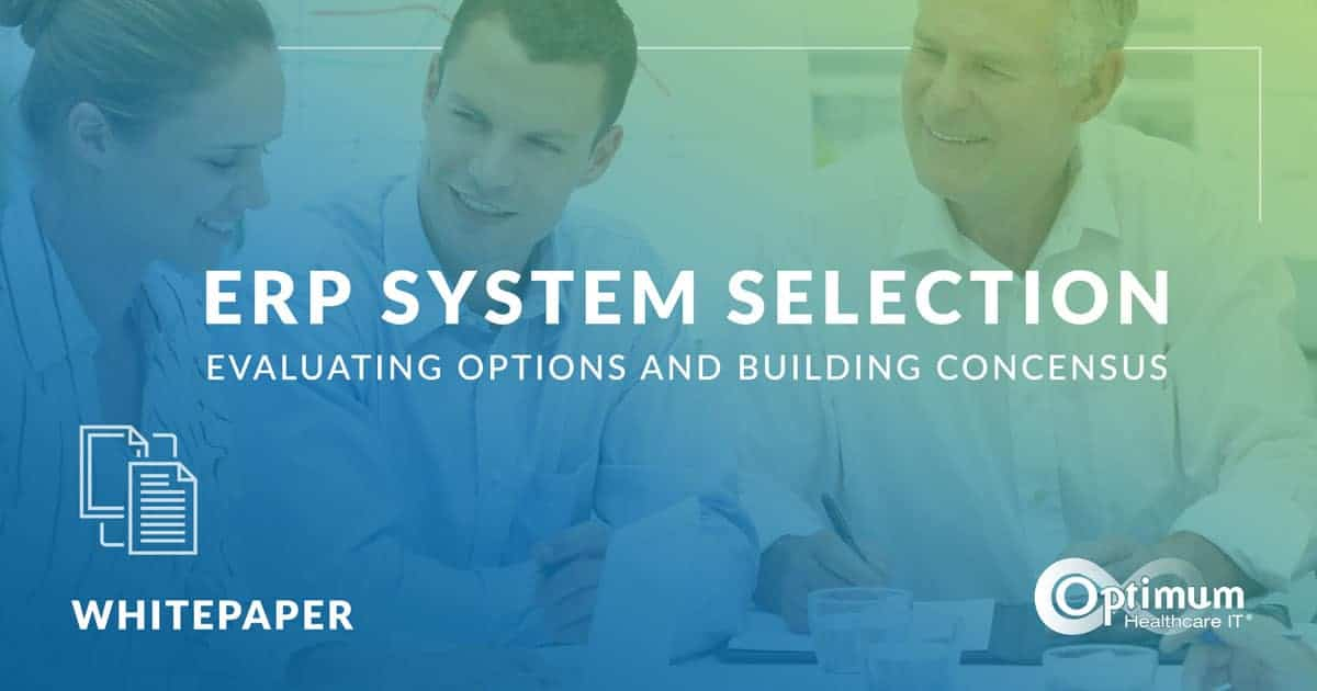 ERP System Selection