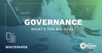 Governance: What's the Big Deal?