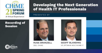 Developing the Next Generation of Healthcare IT Professionals