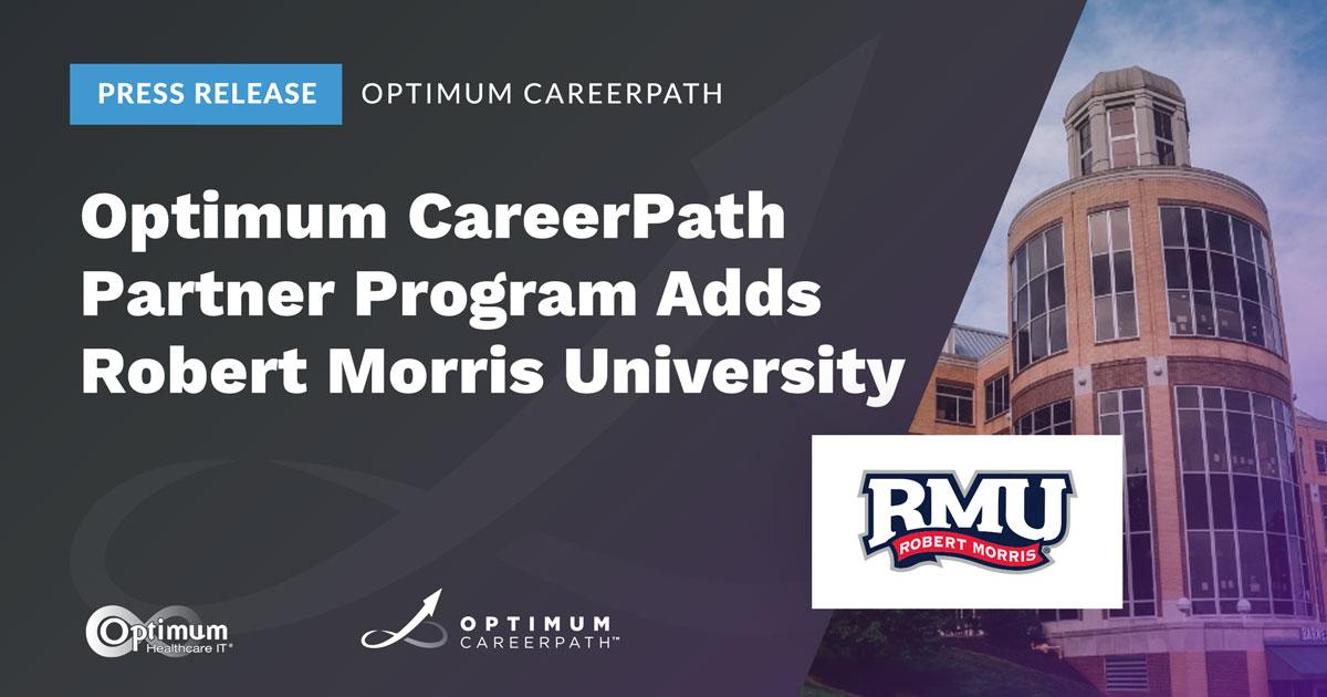 Press Release: Optimum CareerPath Partner Program Adds Robert Morris University