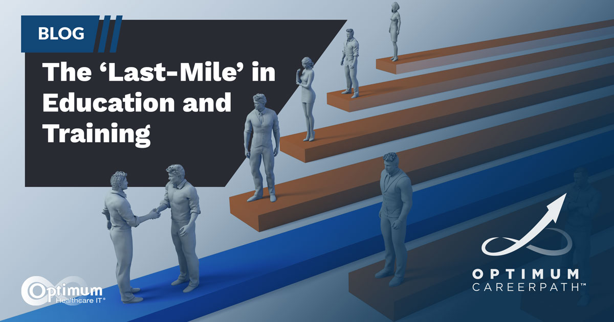 Blog: The Last Mile in Education and Training