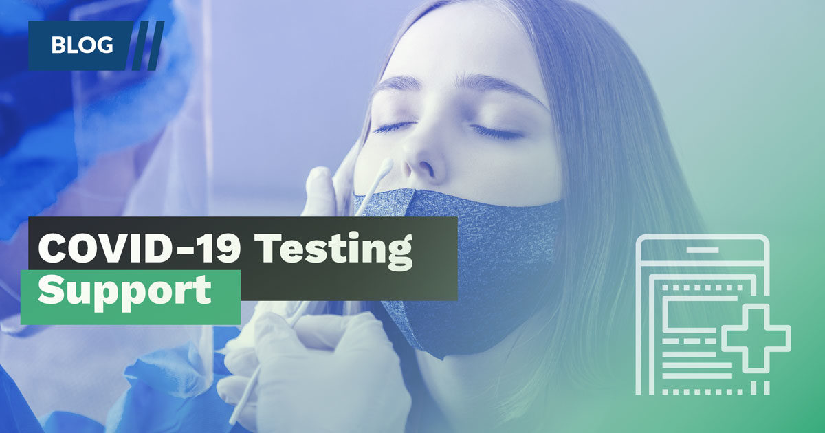 Blog: COVID-19 Testing Support